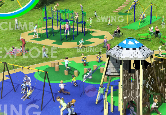 ... Playground Being Updated, The Council Are Looking For Feedback On  Proposed Designs For New Play Equipment At Another Of Our Parks, Municipal  Gardens.